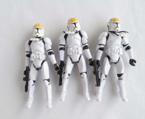 LOT star wars Clone Pilot TROOPER Revenge Of The Sith 501st Figure Obi-Wan
