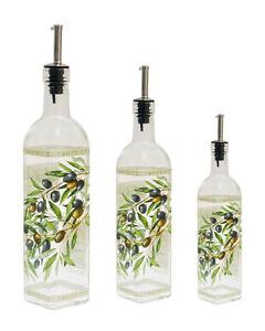 Italian Glass Olive Co...