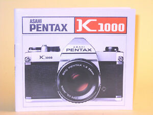 original asahi pentax k1000 operating manual in swedish ebay rh ebay com pentax k1000 manual portugues pentax k1000 manual en español
