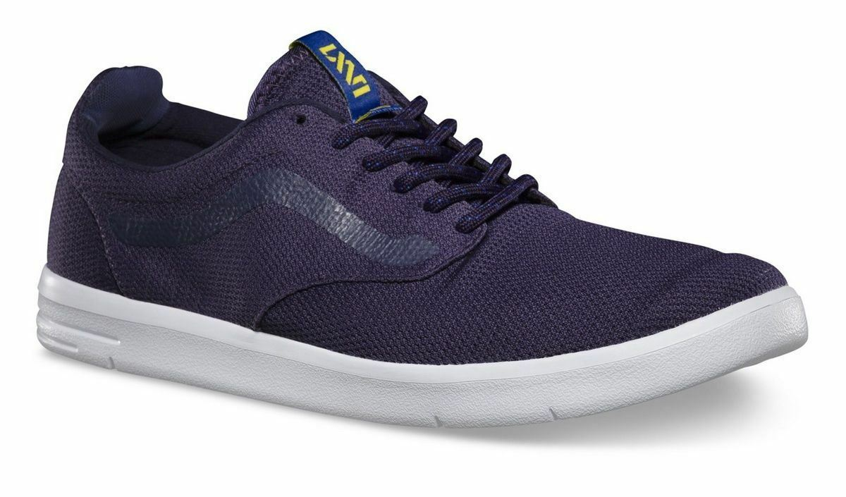 VANS ISO Dark bluee White LXVI ULTRACUSH Trainer MEN'S 7.5 WOMEN'S 9