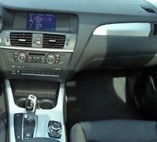 BMW Brand OEM F25 X3 2011-2014 Fine Brushed Aluminum Interior Trim Kit OEM