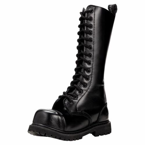 14 Loch Ranger Boots Kampfstiefel Springer Stiefel Knightsbridge Gothic Rangers | eBay