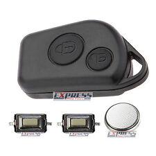 Citroen Saxo Xsara Picasso Berlingo 2 Button Remote Key Fob Case Full Repair Kit