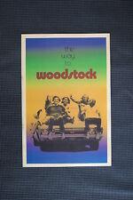 Woodstock Tour Poster 1969 #5