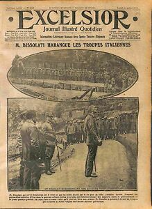Leonida-Bissolati-Soldiers-Italia-Army-Piedimonte-del-Calvario-Podgora-WWI-1916