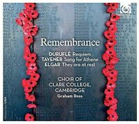 The Choir Of Clare College Cambridge - Remembrance [new Cd] on Sale