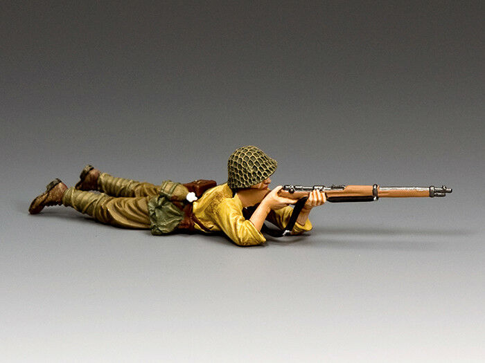 JN057 Lying Prone Rifleman by King & Country