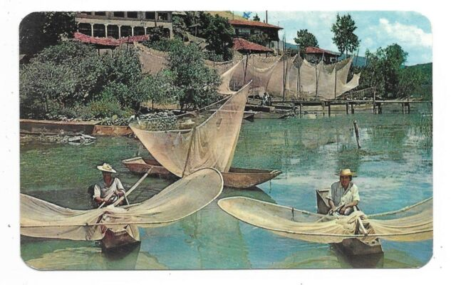 Los Mariposas, Janitzio, Mich. MEXICO The Butterflys, Fishermen