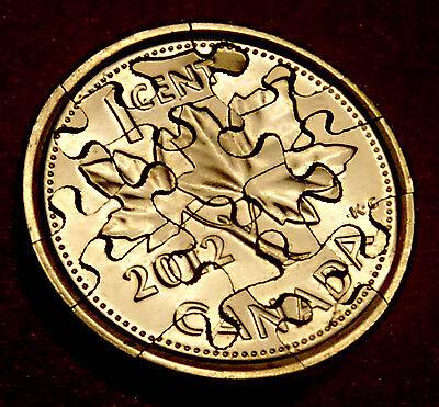 2014 Baseball SILVER Dollar JIGSAW PUZZLE Coin HAND CUT INTO 15 PIECES USA HOF