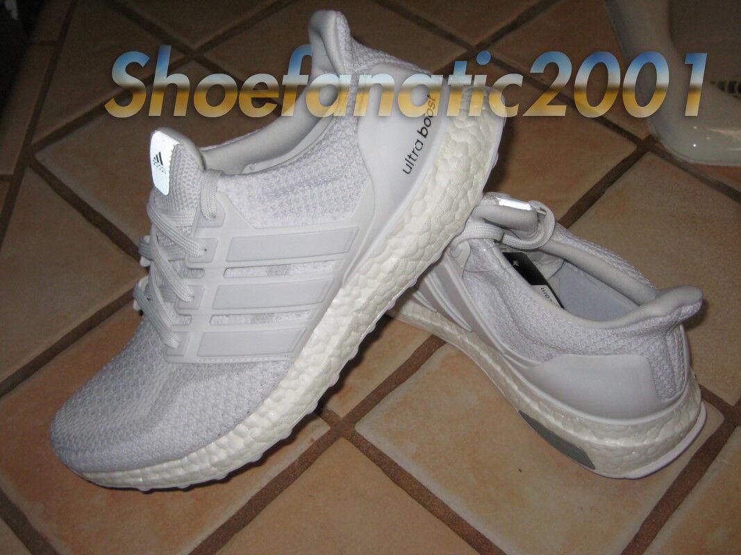 Adidas UltraBoost LTD 7.5 Triple White Out AQ5929 Ultra Boost Kanye Running