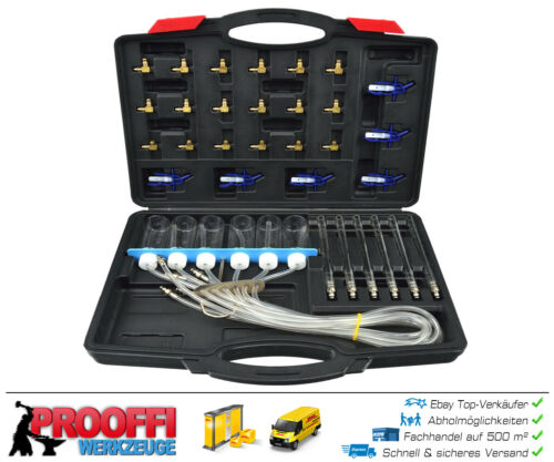 Spezial Injektor Tester Injektoren prüfen 24 Adapter Denso Siemens Delphi G02655
