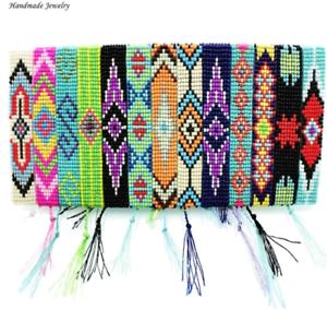 Handmade-Beaded-Friendship-Bracelet-Mix-Color-Eye-Bracelets-For-Women-Men