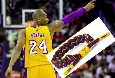 Basketball Kobe Bryant Wristband adjustable Bracelet Basketball USA