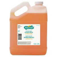 Gojo Micrell Antibacterial Lotion Soap Light Scent Liquid 1gal Bottle 975504ea on sale