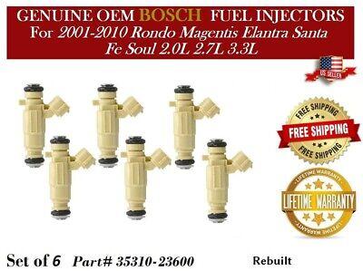 Set of 4 Fuel Injector Hyundai Elantra 2.0L 35310-23600 9260930013