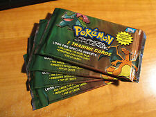 4x SEALED Pokemon TOPPS ADVANCED CHALLENGE Booster Card Pack From Box TCG 2004