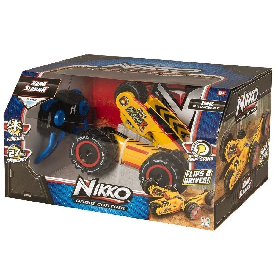 4WD Radio Remote Control Car Nikko Nano Slammr RC off road