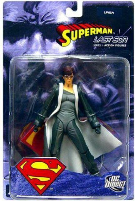DC DIRECT SUPERMAN LAST SON SERIES  ACTION FIGURE*URSA*NIB*