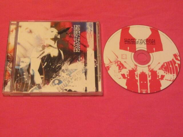 Gary Numan Resonator Pioneer Of Sound Rare 2004 CD Album (PBZCD08) Electronic Ro