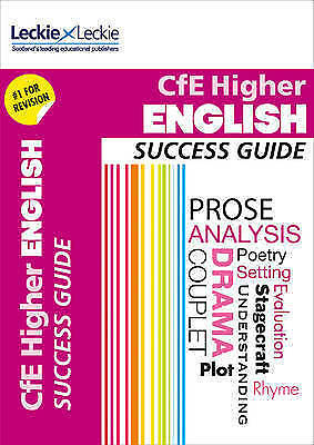 CfE Higher English Success Guide by Valentine, Iain Leckie & Leckie (Paperback b