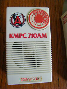 Vintage-KMPC-710-AM-California-Angels-Transistor-Radio
