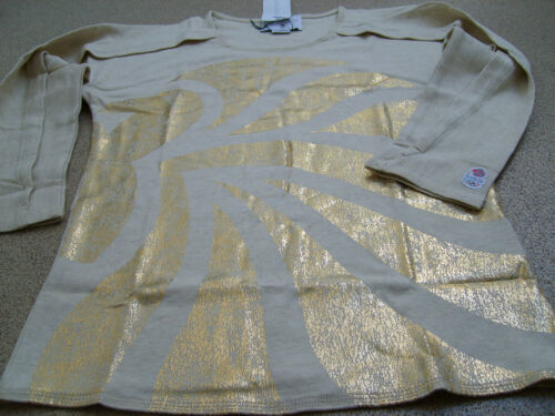 adidas Official LONDON 2012 m GB Women's Stella McCartney Gold Lion Top