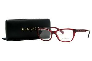 01b93037c90 Image is loading VERSACE-Women-039-s-Red-Glasses-with-case-