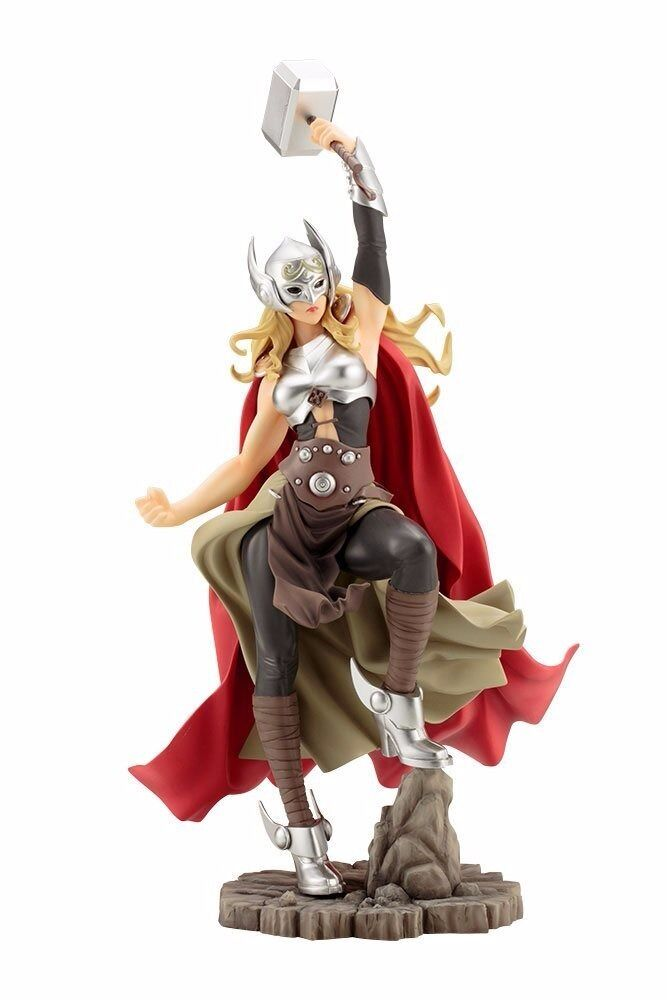 MARVEL BISHOUJO Statue THOR 1 7 PVC Figure Kotobukiya NEW from Japan F S