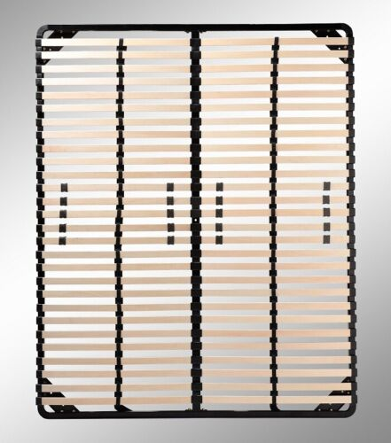 Lattenrost 80x200-200x200 cm Lattenrahmen aus Stahl mit Härtegradverstellung