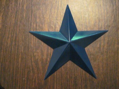 "8/"" Royal Blue Barn Star Metal Primitive"