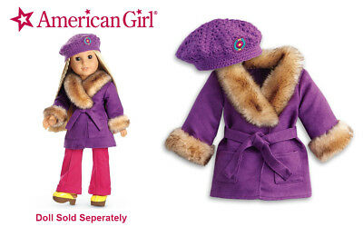 Unused  New in Box Retired AMERICAN GIRL   Julie/'s Winter Coat and Hat
