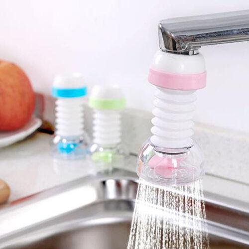 1pcBathroom Extender Anti-splash Faucet Kitchen Water Filter Sprayer StrainerNew