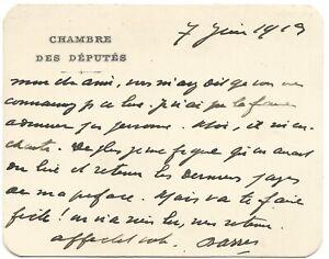 Maurice-BARRES-Carte-autographe-signee