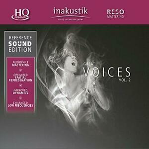 Great-Voices-Vol-2-Reference-Sound-Edition-Various-NEW-CD