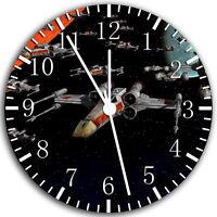 "Starwars Star Wars wall Clock 10"" will be nice Gift and Room wall Decor W162"