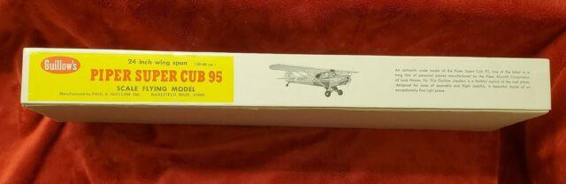 Guillows Piper Super Cub 95 Laser Cut Model Kit Flat River Group 303 LC