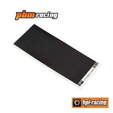 HPI Racing Carbon Fiber Decal Sheet 93x210mm 113361