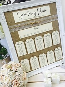 Image Is Loading Rustic Antique Framed Vintage Shabby Chic Wedding Table