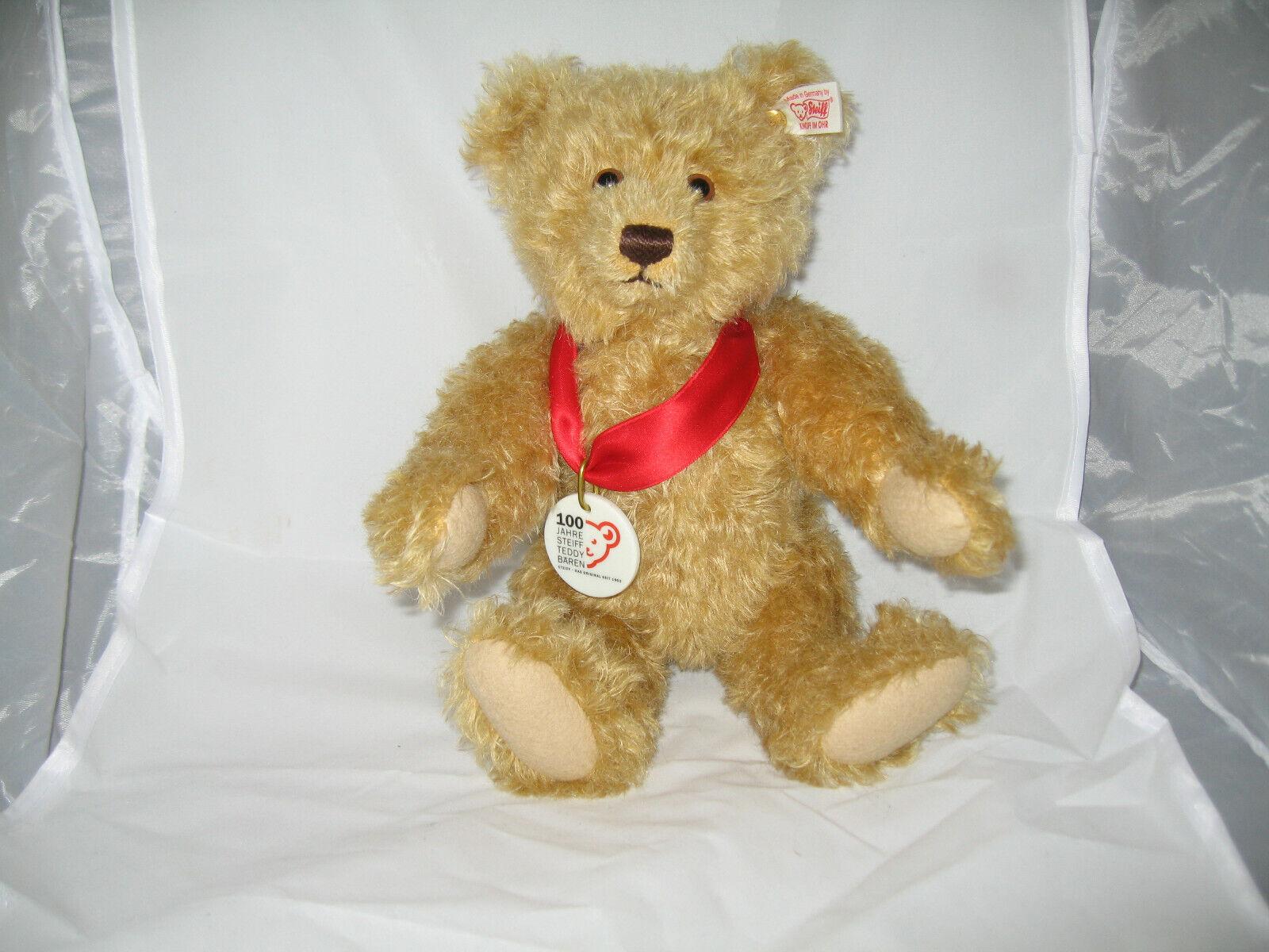 100 Jahre Steiff Teddybär limitiert + Buch + Zertifikat