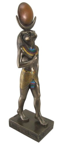 Ra the Sun God Falcon Egyptian God Kemetic Statue Figurine 6 inches tall