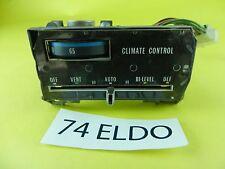 1974 74 ELD CADILLAC ELDORADO A/C HEAT AUTOMATIC CLIMATE CONTROL USED T
