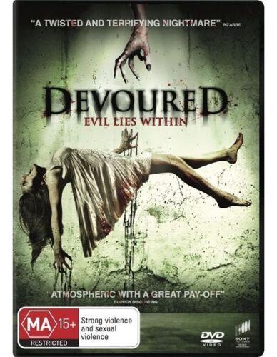 1 of 1 - Devoured Evil Lies Within (DVD, Region 4) AUSTRALIAN DVD.