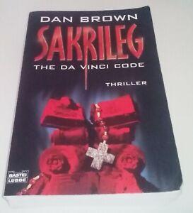 Sakrileg von Dan Brown , ISBN 9783404154852 -  Deutschland, Deutschland - Sakrileg von Dan Brown , ISBN 9783404154852 -  Deutschland, Deutschland