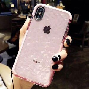 clear glittery iphone xs case