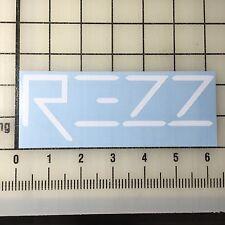 """BOGO Destructo Logo 6/"""" Wide White Vinyl Decal Sticker"""
