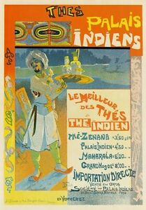 Image Is Loading AP68 Vintage 1894 French Best Indian Tea Advertisement