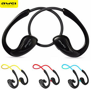 Awei Wireless Bluetooth Headset Sports Stereo Earphones Headphone for Running