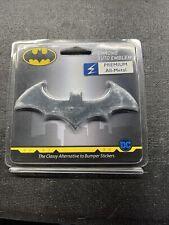 Batman Chrome Auto Emblem 3 D Bat Dc Comics Licensed Batmobile