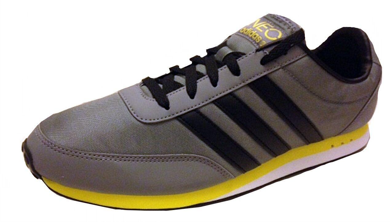 Adidas Hommes V Débardeur NYLON BASKETS q38935 gris/ noir/ JAUNE7.5, 9,9 .5,