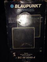 Blaupunkt Porshe Sound Component System
